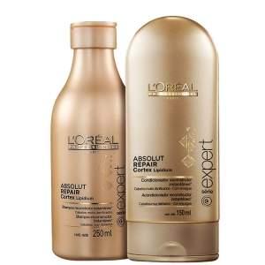 [BelezanaWeb] L'Oréal Professionnel Absolut Repair Cortex Lipidium Duo Kit (2 Produtos) - Frete Grátis - R$156