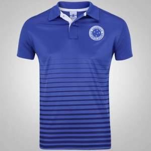 [Centauro]  Camisa Polo Cruzeiro Class - Masculina - por R$34