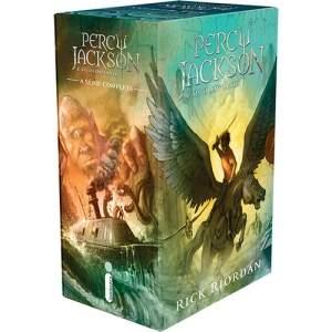 [Americanas] Livro - Box Percy Jackson e os Olimpianos (5 Volumes) por R$ 40
