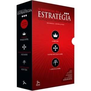 [SUBMARINO] Box de Livros - O Essencial da Estratégia (3 Volumes)