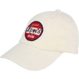 [AMERICANAS] Boné Levi's Original Brand - Off White R$24 - CUPOM 10MAIS