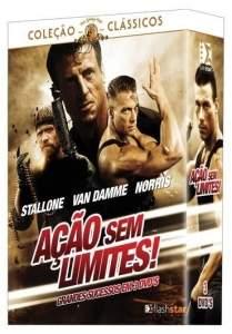 [Saraiva] DVD Coleção Ação Sem Limites - 3 Discos - R$8