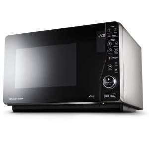 [Extra] Forno de Micro-ondas Brastemp Maxi Flat BMJ23AS Preto - 23 Litros por R$ 474