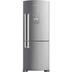 [CARTAO AMERICANAS] Geladeira / Refrigerador Brastemp Inverse Frost Free BRE50NK 422L Evox