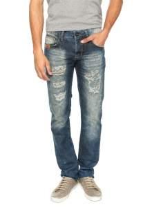 [DAFITI] Calça Jeans Colcci Alex Azul