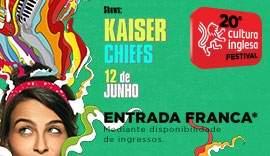 [Cultura Inglesa/SP] Show do Kaiser Chiefs/ Nação Zumbi/Finger Hooks por R$ 5