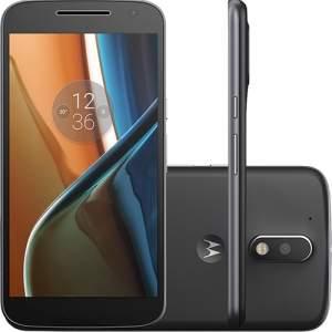 [Americanas] Smartphone Moto G 4 Dual Chip Desbloqueado Android 6.0 Tela 5.5'' 16GB Câmera 13MP - Preto - R$1.143