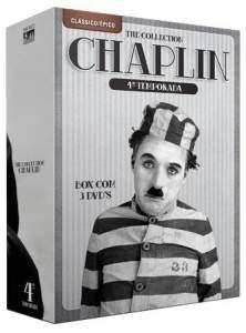 [Saraiva] DVD Coleção Chaplin - The Collection - 4ª Temporada - 3 Discos - R$20