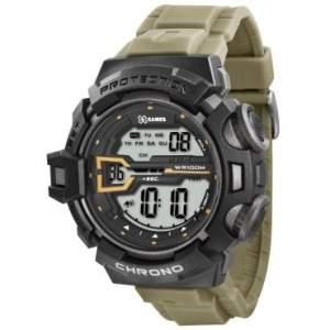 [RICARDO ELETRO] Relógio Masculino X-Games Digital, Pulseira de Poliuretano, Caixa de 5 cm, Resistência a Água 100 Metros por R$ 80