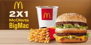 [McDonalds] 2 McOfertas BigMac pelo preço de 1