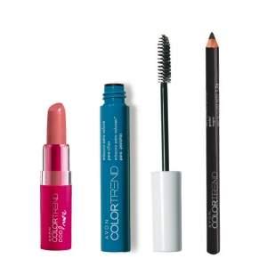 [Avon] Kit Color Trend (Máscara + Batom + Lápis) - R$20