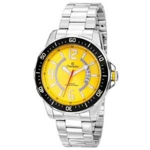 [Clube do Ricardo] Relógio Masculino Champion Analogico,Caixa de 4,5 cm,Pulseira de Aco,Resistencia a Água 100 M CA30945Y por R$140