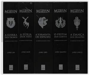 [Amazon] As Crônicas de Gelo e Fogo - Caixa com 5 Volumes  por R$ 45