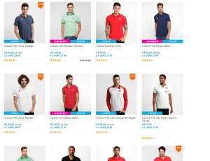 [Netshoes] 3 camisas polos de times de futebol por R$99