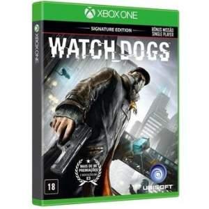 [Walmart] WATCH DOGS SIGNATURE EDITION VERSÃO EM PORTUGUÊS XONE por R$ 70