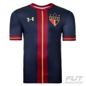 [Fut Fanatics] Camisa Under Armour São Paulo Goleiro III 2015 Juvenil por R$ 90