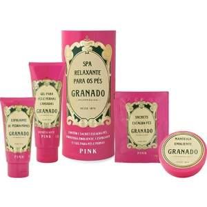 [Americanas] Kit SPA Relaxante Pés Granado Pink - R$60