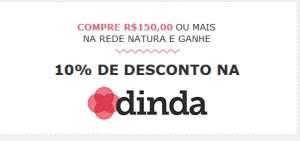 [Natura] Compre na Rede Natura e ganhe desconto no site Dinda