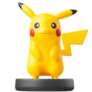 [Ricardo Eletro] Amiibo Pikachu - Nintendo Wii U, 3DS - R$49