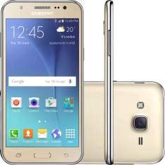 [Sou Barato] Samsung Galaxy J5 16GB Dual Chip Desbloqueado Dourado - R$746