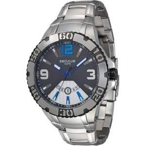 [SOU BARATO] Relógio Masculino Seculus Analógico com Calendário 23437G0SVNA1 - R$170