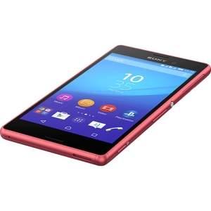 "[Sou Barato] Smartphone Sony Xperia M4 Aqua Dual Dual Chip Desbloqueado Android 5.0 5"" 16GB 4G 13MP - Coral por R$ 989"