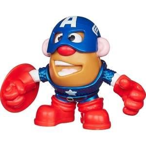 [Americanas] Boneco Sr. Cabeça de Batata Capitão América - Hasbro - R$18
