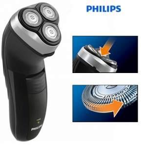 [Casas Bahia] Barbeador Philips HQ6927/16 com Sistema Reflex Action Bivolt por R$ 45
