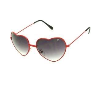 [Dafiti] Óculos De Sol Sun John Coração Vermelho - R$39