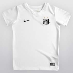 [Netshoes] Camisa Torcedor Santos I 2015 Infantil - sem Número Nike - R$31