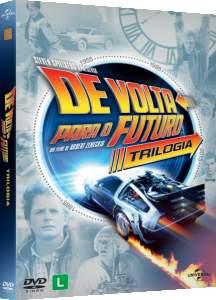 [Saraiva] DVD de Volta Para o Futuro - Trilogia - 30º Aniversário - 3 Discos - R$28