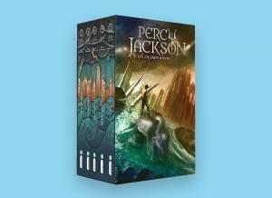 [SUBMARINO] Livro - Box Percy Jackson e os Olimpianos (5 Volumes) -  R$50