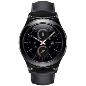 "[EFACIL] Galaxy Gear S2 Classic Preto 1.2"" 4GB, Bluetooth, Comando por Voz - Samsung POR R$ 1674"
