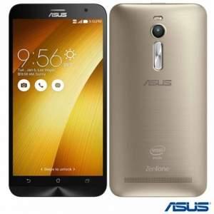 [FASTSHOP] Zenfone 2 Dual Dourado Asus, 4G, 4GB RAM, 32 GB de armazenamento interno - R$1155