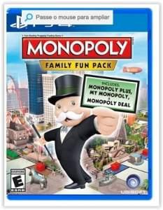 [Submarino] Game Monopoly: Family Fun Pack - PS4 por R$ 30
