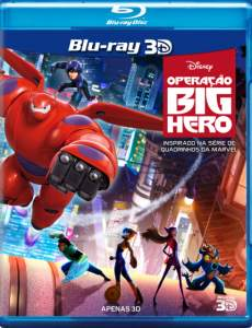 [Saraiva] Blu-Ray 3D Operação Big Hero - R$20