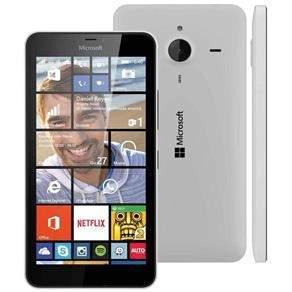 """[Casas Bahia] Smartphone Desbloqueado Microsoft Lumia 640XL Dual Branco com Windows Phone 8.1, Tela de 5.7"""", 4G, Câmera 13MP e Processador Quad Core 1.2 GHz - Vivo por R$ 799"""