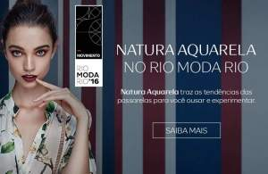 [Natura] Kits Exclusivos Aquarela Make Rio Moda Rio - a partir de R$ 54