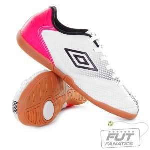 [Futfanatics] Chuteira Umbro Cup IN Futsal Branca - R$35,11