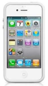[SARAIVA] Capa Bumper Kingo Branco Para iPhone 4 e 4s PRODUTO ORIGINAL