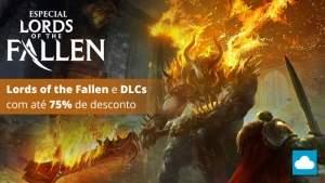 [NUUVEM] Especial - Lords of the fallen (Jogo + DLCs) - R$ 18,50