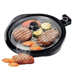 [Casas Bahia] Grill Mondial Redondo Smart Grill G-04 - R$100 + frete grátis pra algumas regiões