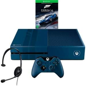 [AMERICANAS] Console Xbox One 1TB Edição Limitada + Game Forza 6 (Via Dowloand) + Headset com Fio + Controle Wireless - R$1699