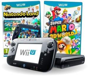[SUBMARINO] PREÇÃO! R$971: NINTENDO WII U 32GB + 2 GAMES - em 1X no C. Sub por R$ 971