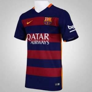 [Centauro] Camisa Barcelona I 15/16 Nike - R$120