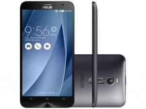 """[Magazine Luiza] Smartphone Asus ZenFone 2 32GB Prata Dual Chip 4G - Câm 13MP + Selfie 5MP 5.5"""" Full HD Proc. Quad Core por R$ 1170"""