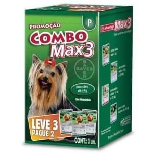 [AMERICANAS] Kit Advantage Max 3 P - Compre 2 Leve 3 - R$60