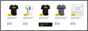 [Saraiva] Camisetas com Estampas Geeks a partir de R$ 9