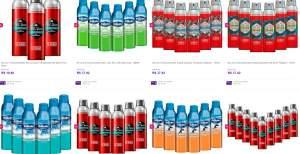 [Sou Barato] Kits de desodorantes Old Spice (com 3, 6 ou 9) a partir de R$5,50 por unidade