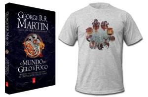 [Amazon] O mundo de gelo e fogo + camiseta R$60